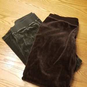 2 Pair Chico's Ladies Large Lounge Pants